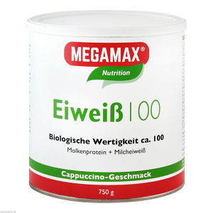 Eiweiss 100 Cappuccino Megamax